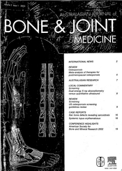 A cover of one of Elsevier's corporate sponsored [url=http://en.wikipedia.org/wiki/Australasian_Journal_of_Bone_%26_Joint_Medicine]fake scientific journals[/url].